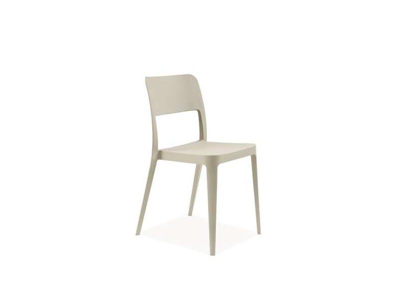 Polypropylene chair KEYEN by CREO Kitchens