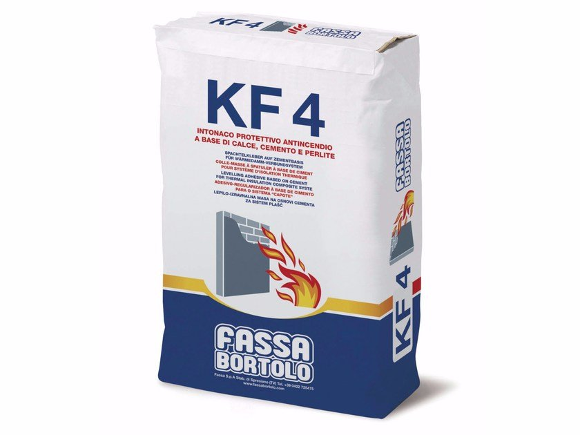 Fire-resistant plaster KF 4 by FASSA
