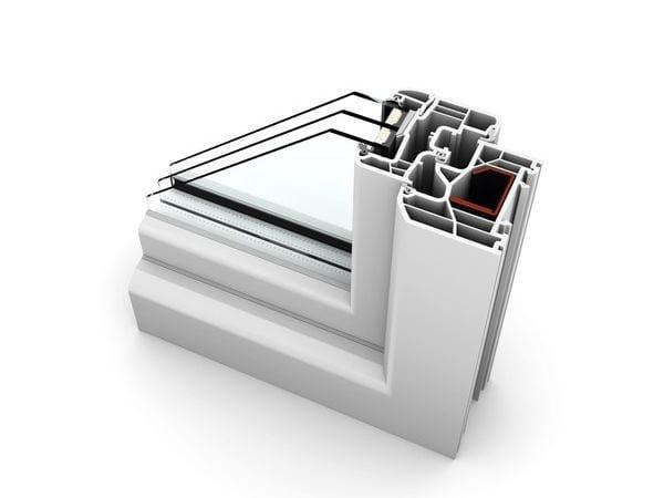 PVC casement window KF300 | Window by INTERNORM Italia