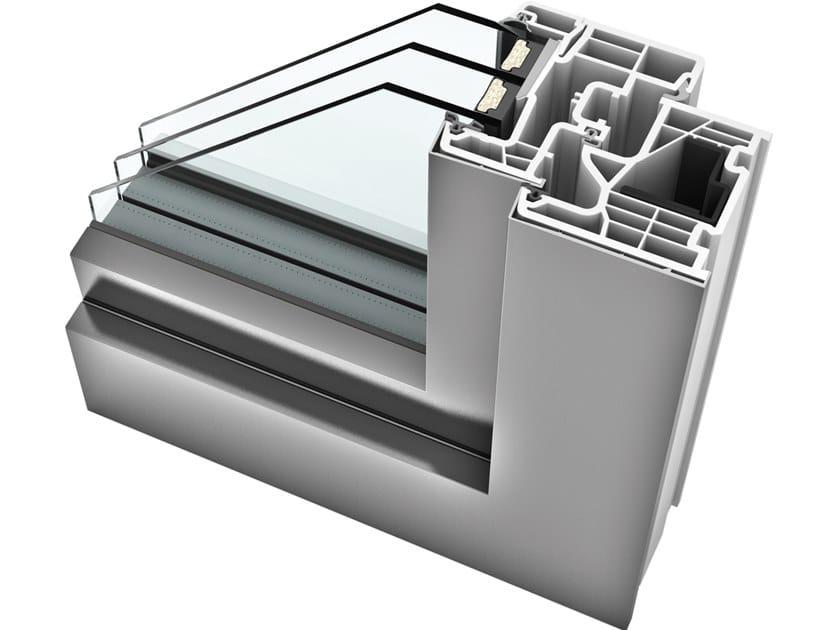 KF 310   Finestra in alluminio e PVC home pure