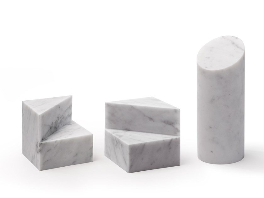 Marble bookend KILOS by SALVATORI