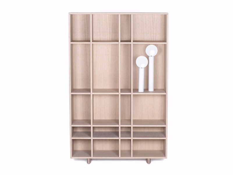 MDF bookcase KILT OPEN | Bookcase by ASPLUND