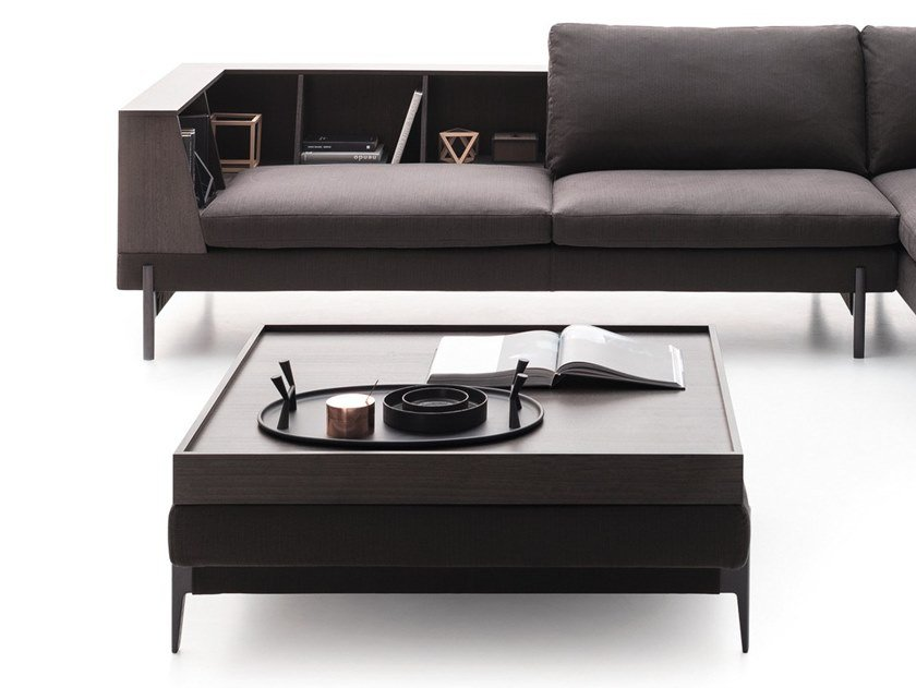 Rectangular fabric coffee table KIM | Coffee table by Ditre Italia