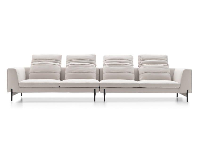 4 seater fabric sofa KIM RELAX by Ditre Italia