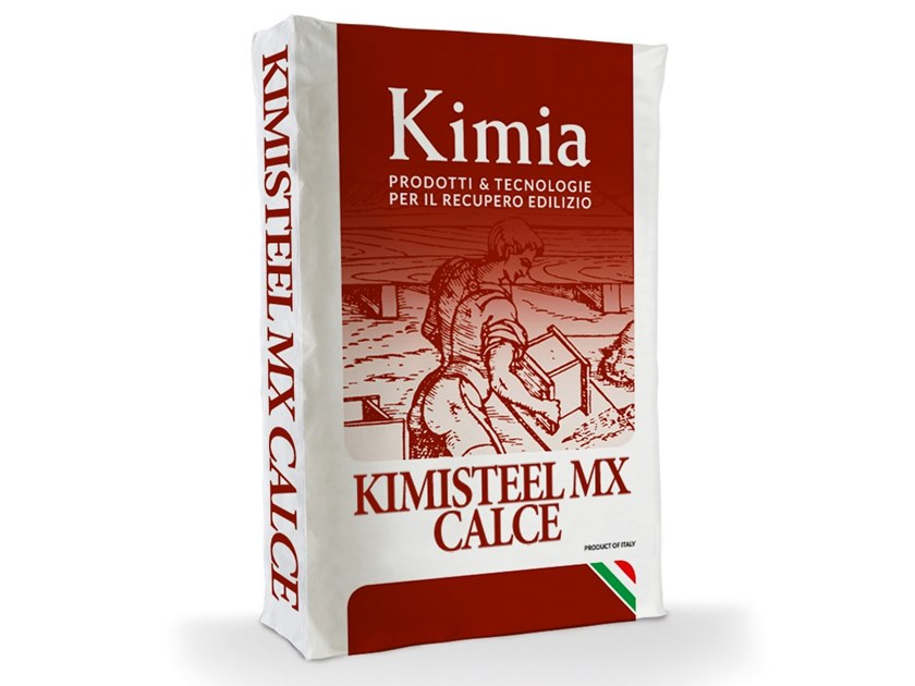 Renovation mortar and grout for renovation KIMISTEEL MX CALCE by Kimia