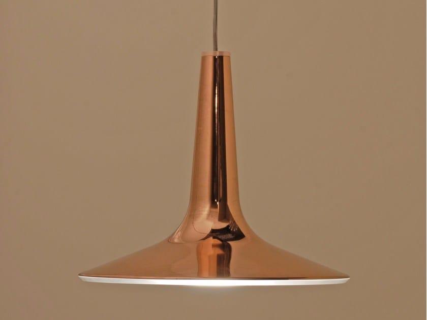 Lámpara colgante LED de aluminio con luz directa KIN -  478 by Oluce