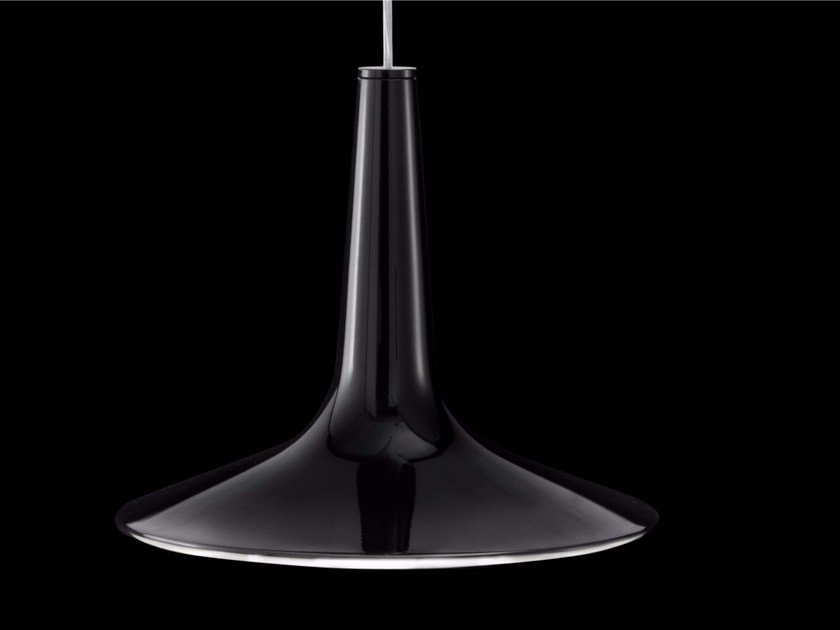 Direct light aluminium pendant lamp KIN - 479 by Oluce