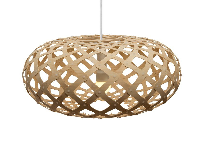 Pendant lamp KINA by David Trubridge