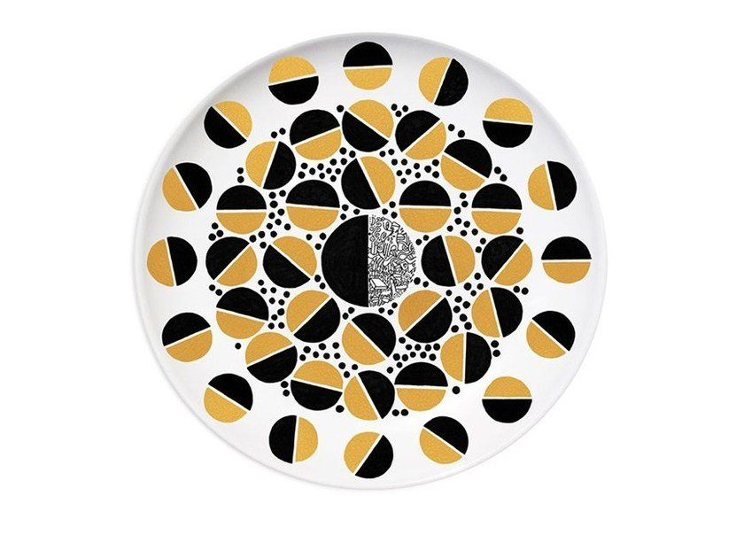 Ceramic dinner plate KING by Kiasmo