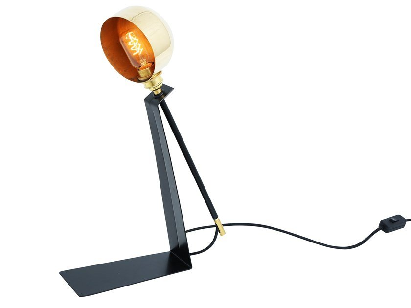 Handmade adjustable table lamp kingston contemporary table light by mullan lighting