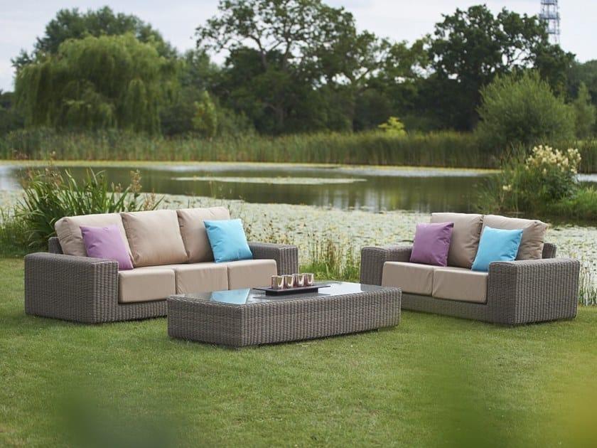 KINGSTON | Sofá de jardín 3 plazas By Bridgman