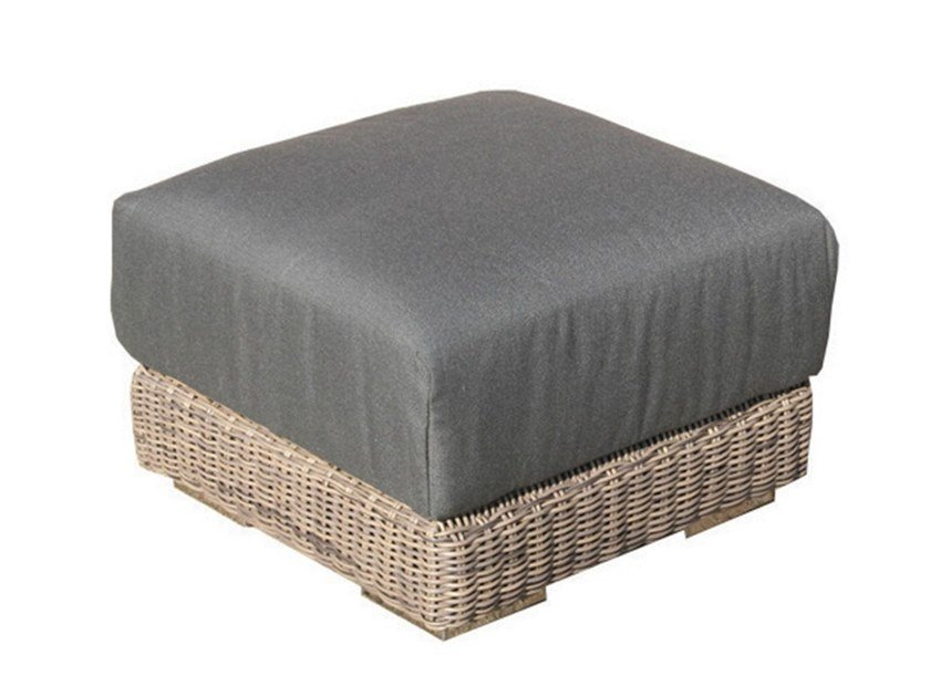 Square garden footstool KINGSTON | Garden footstool by Bridgman