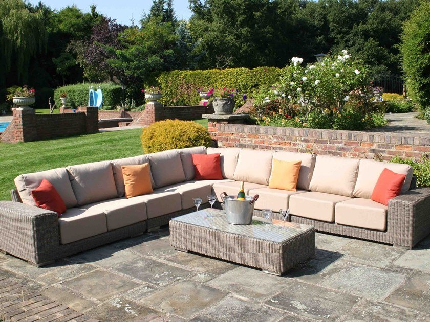 Modular garden sofa KINGSTON | Modular garden sofa by Bridgman