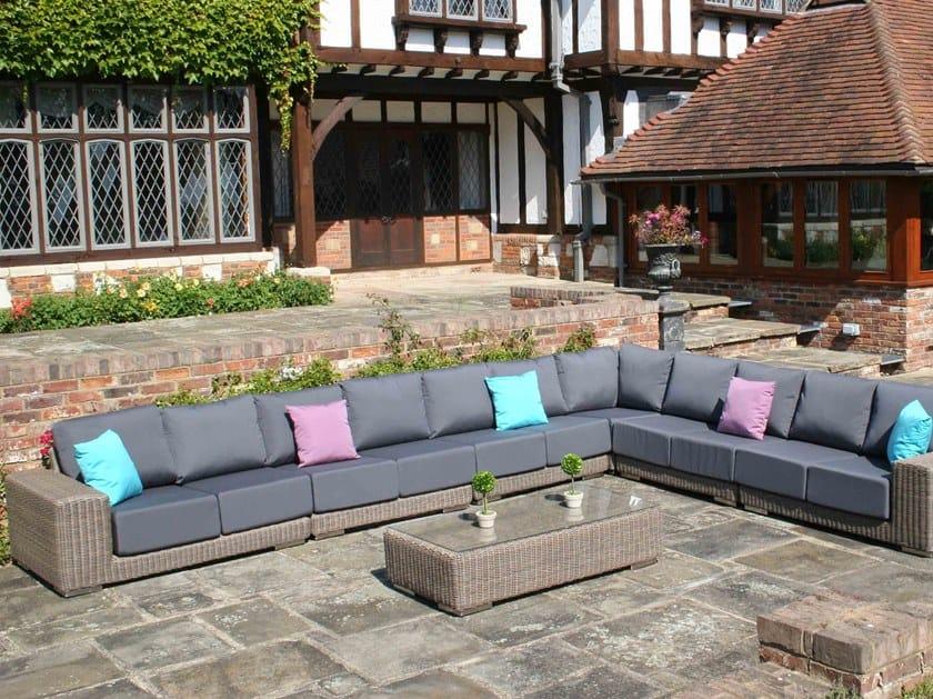 KINGSTON | Sofá de jardín modular By Bridgman