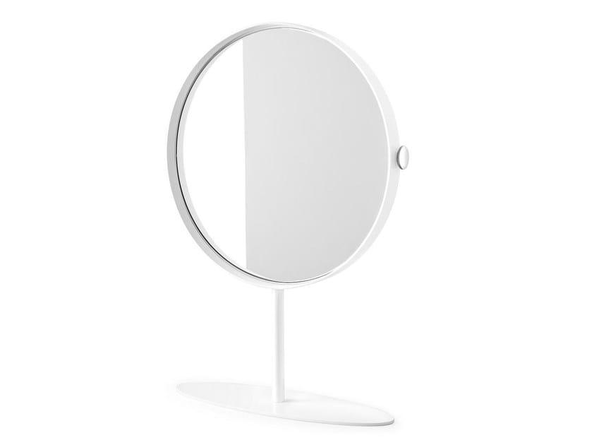 Countertop round mirror KIOO by Calligaris