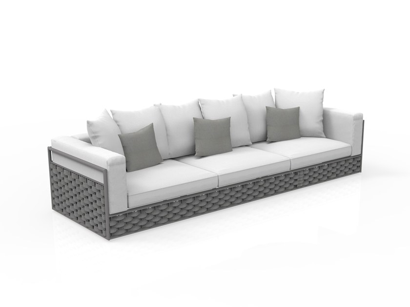 3 Seater Sofa With Removable Cover Kira By Talenti