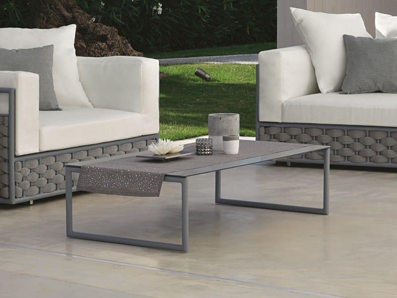 Rectangular garden side table KIRA | Coffee table by Talenti