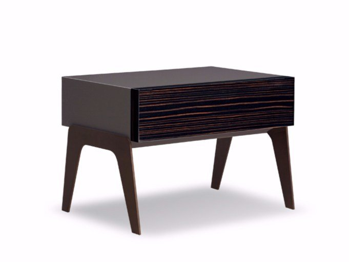 Bedside table KIRK NIGHTSTAND by Minotti