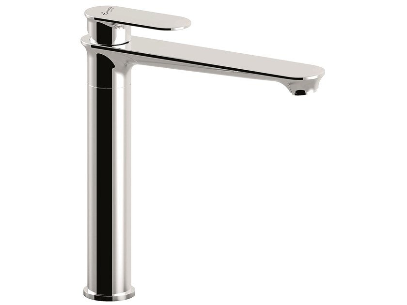 Countertop 1 hole brass washbasin mixer 88003BIG | Countertop washbasin mixer by EMMEVI RUBINETTERIE