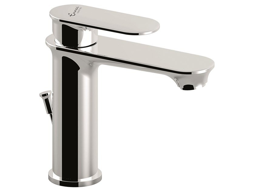 1 hole brass washbasin mixer 88003 | Washbasin tap with automatic pop-up waste by EMMEVI RUBINETTERIE