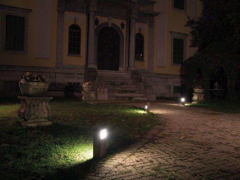 LED die cast aluminium bollard light KIT-08 STILE NEXT POST by Lombardo