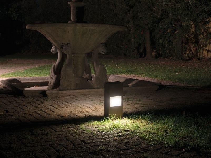 LED die cast aluminium bollard light KIT-09 STILE NEXT POST by Lombardo