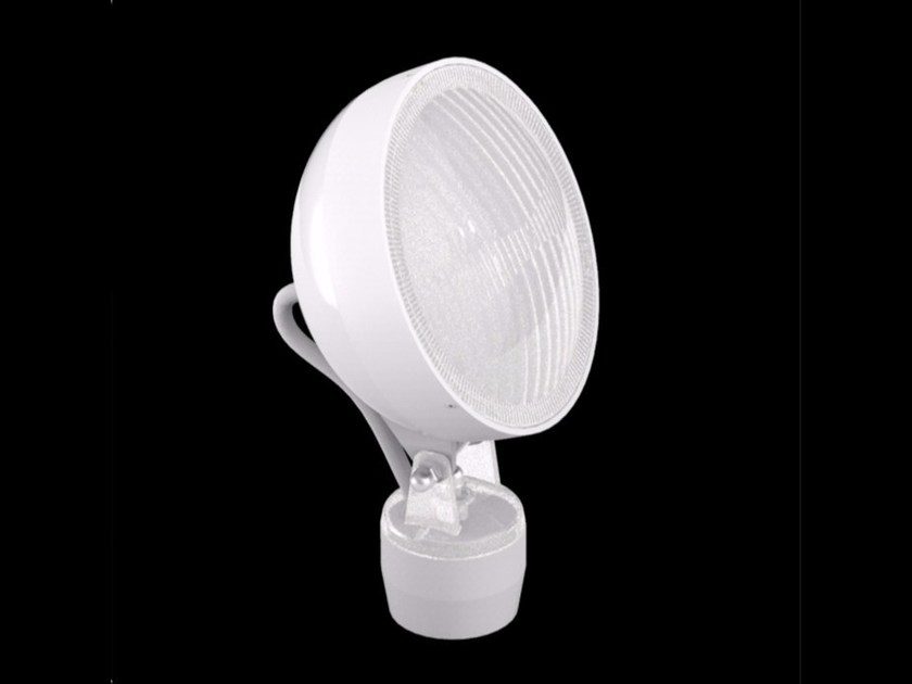 LED polycarbonate Floor lamp KIT-10 QUID 160 by Lombardo