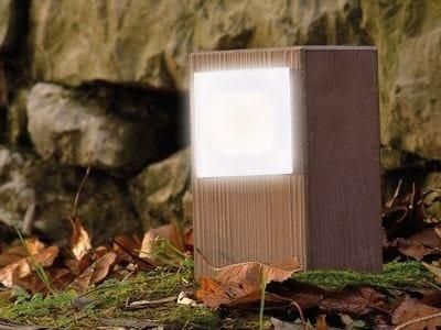LED cement bollard light KIT-11 STILE NEXT POST by Lombardo