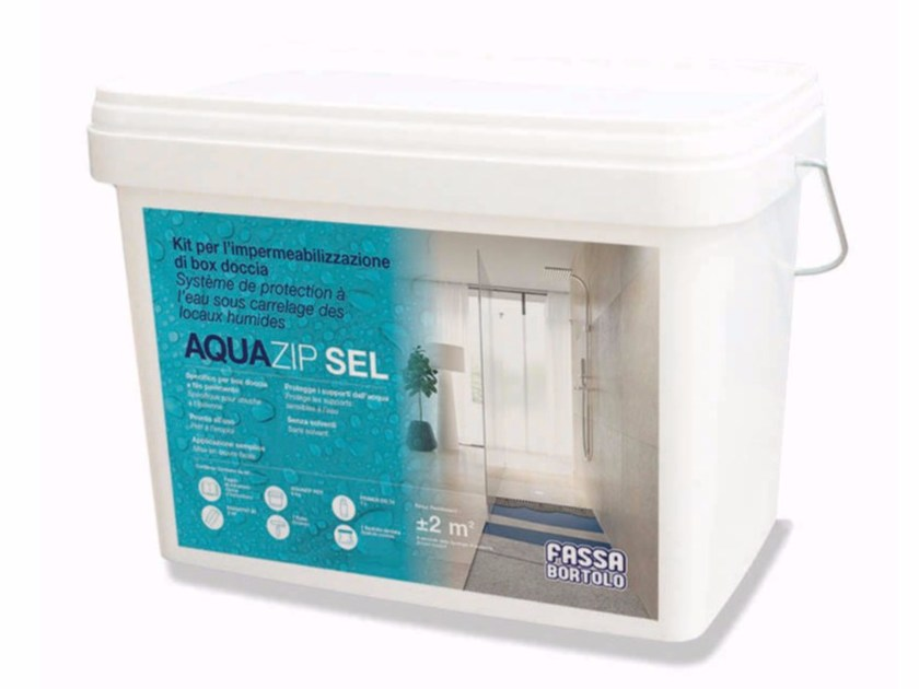Accessory and product for installation KIT AQUAZIP SEL by FASSA