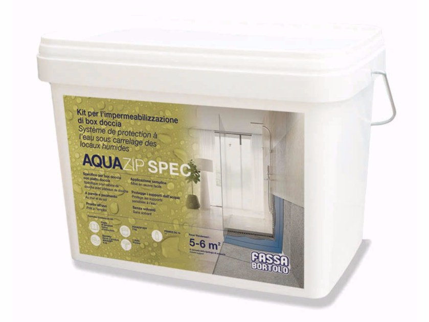 Accessory and product for installation KIT AQUAZIP SPEC by FASSA