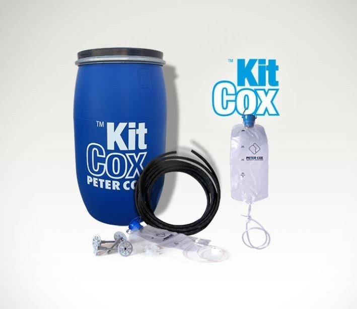 Chemical barrier anti-humidity system ™KIT COX by PETER COX