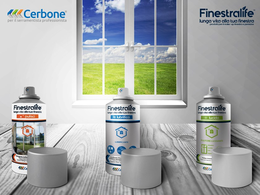 Window cleaning products KIT FINESTRALIFE by Cerbone