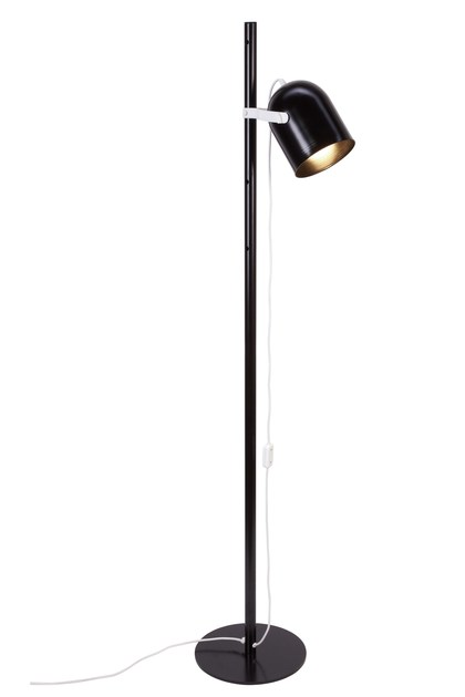 Contemporary style metal floor lamp KIWI P by luxcambra