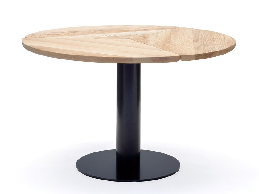 Round ash dining table KLEE | Dining table by COEDITION
