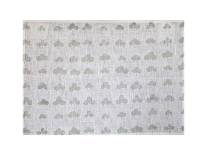 Rectangular linen placemat KLEE | Placemat by Birgit Morgenstern Studios