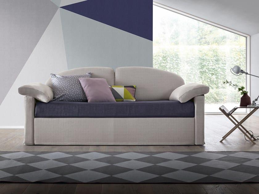 3 seater fabric sofa bed KLIO by Felis