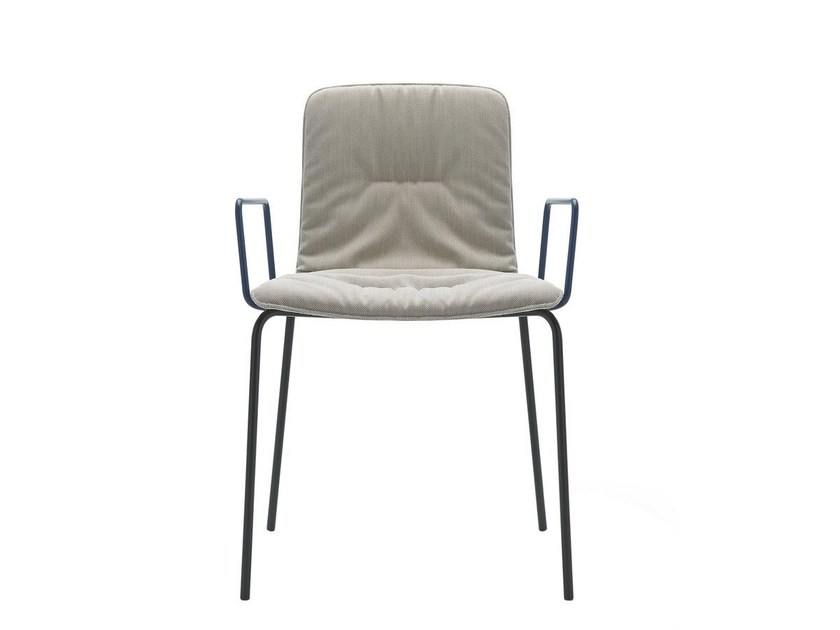 Design fabric chair KLIP SOFT | Chair by Viccarbe
