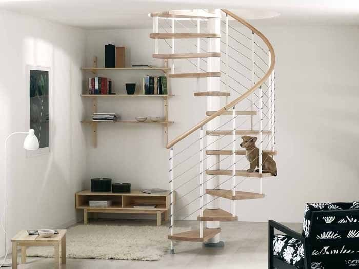 Spiral staircase in kit form KLOE' by Fontanot