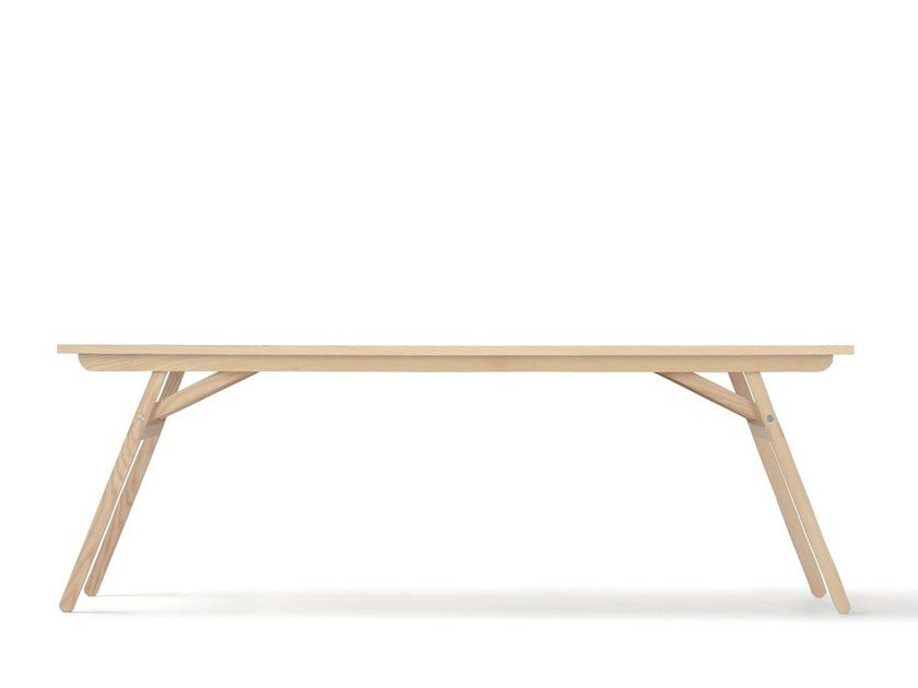 Rectangular table KLOPSTOCK by Nils Holger Moormann