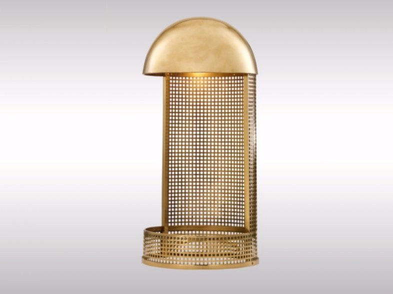 Brass table lamp KM6 | Table lamp by Woka Lamps Vienna
