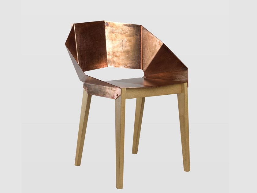 Copper chair KNIGHT | Copper chair by Gie El Home