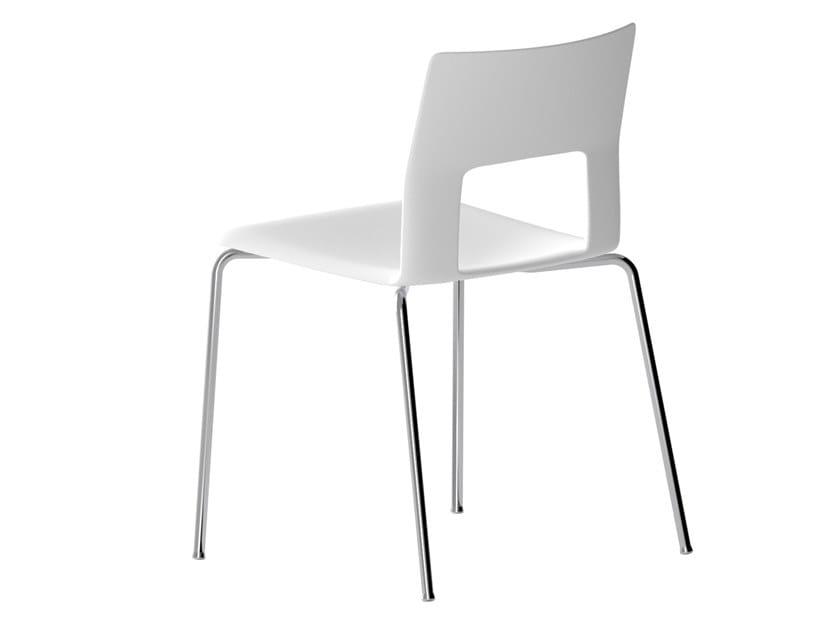 Baydur® chair KOBE | Chair by Desalto