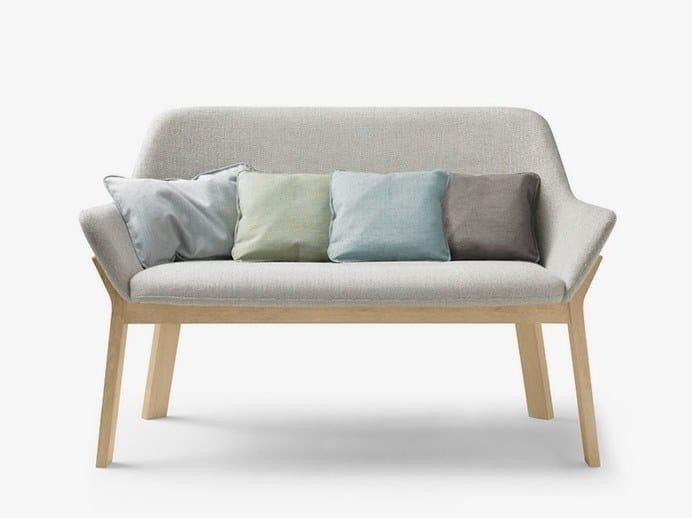 Fabric Small Sofa Koila Bench By Alki
