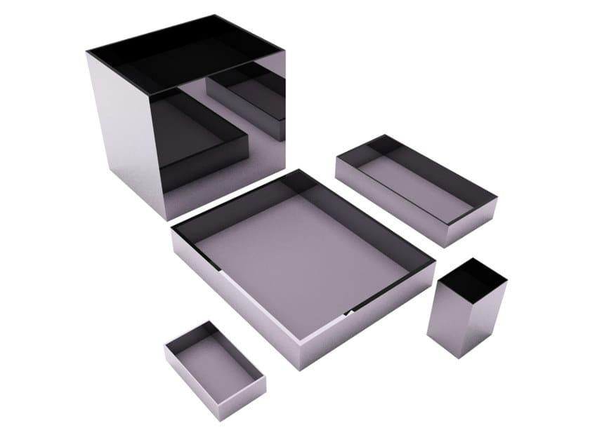 Set da scrivania in metallo KOLB   Set da scrivania by ZALABA Design