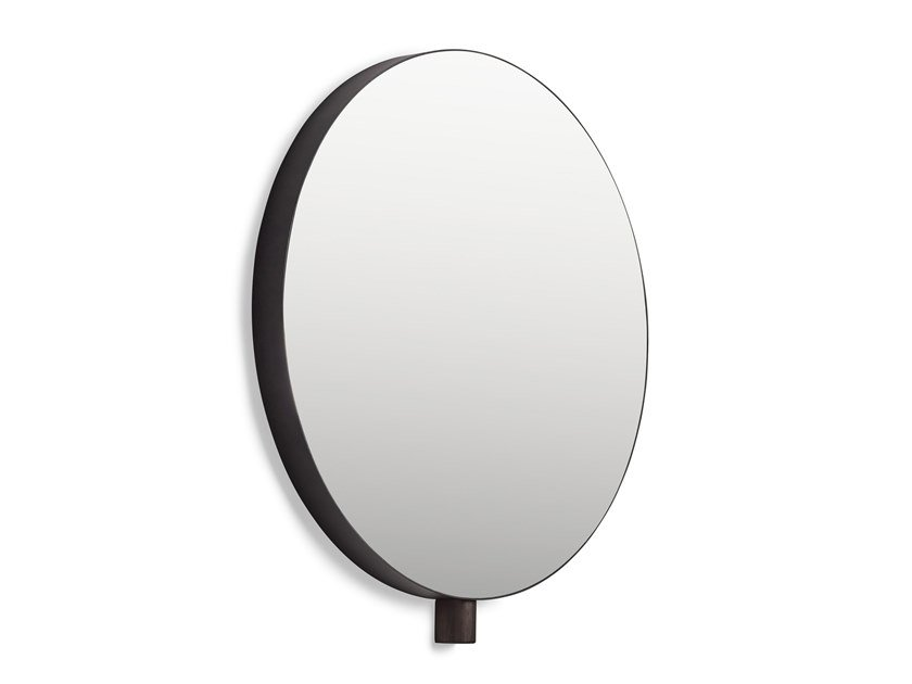 Round wall-mounted mirror KOLLAGE | Wall-mounted mirror by Gejst