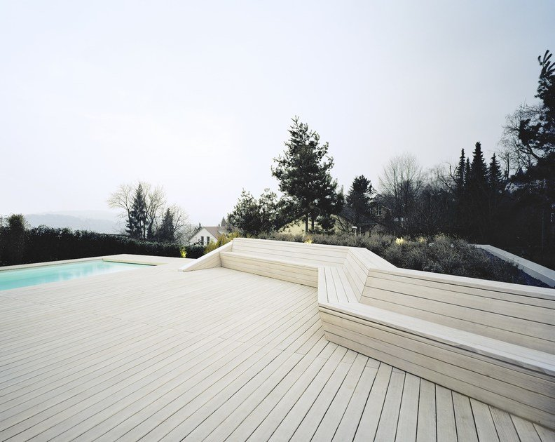 Knotless douglas decking boards KOLLIN by pur natur