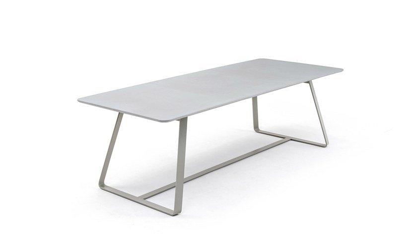 Rectangular wooden table KOLONAKI | Rectangular table by Varaschin