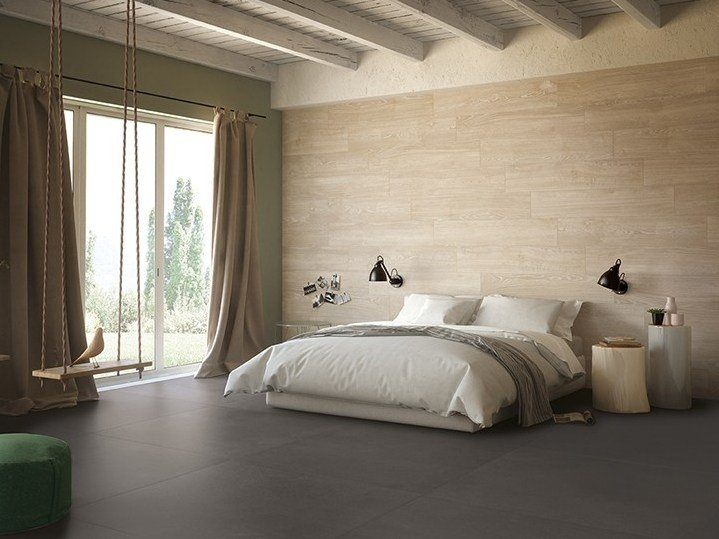 Porcelain stoneware wall/floor tiles with wood effect KOMI PURE by CERAMICA FONDOVALLE