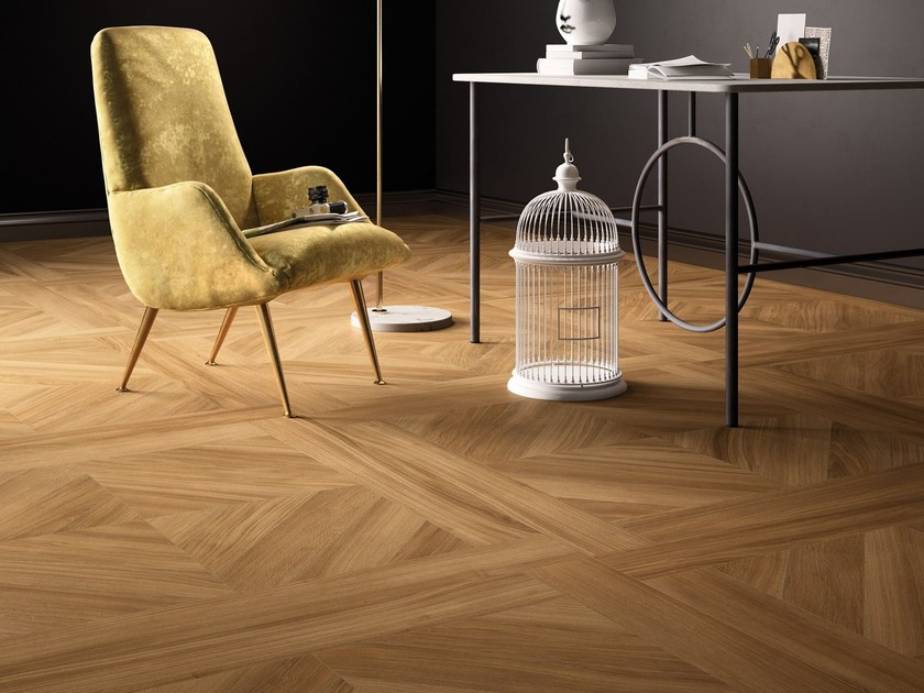 Porcelain stoneware wall/floor tiles with wood effect KOMI TRADITIONAL by CERAMICA FONDOVALLE