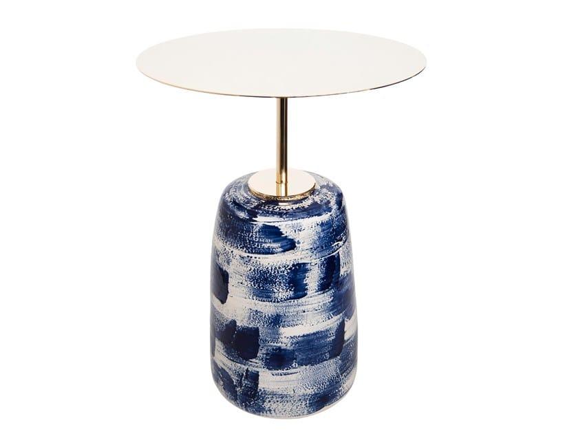 Tavolino di servizio rotondo KON-JYO | Tavolino di servizio by Pascale Girardin